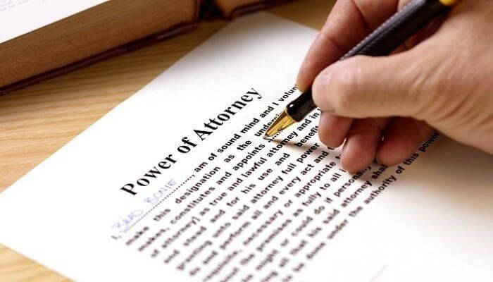 One Nabbed for Walking Off with A Power of Attorney Deed