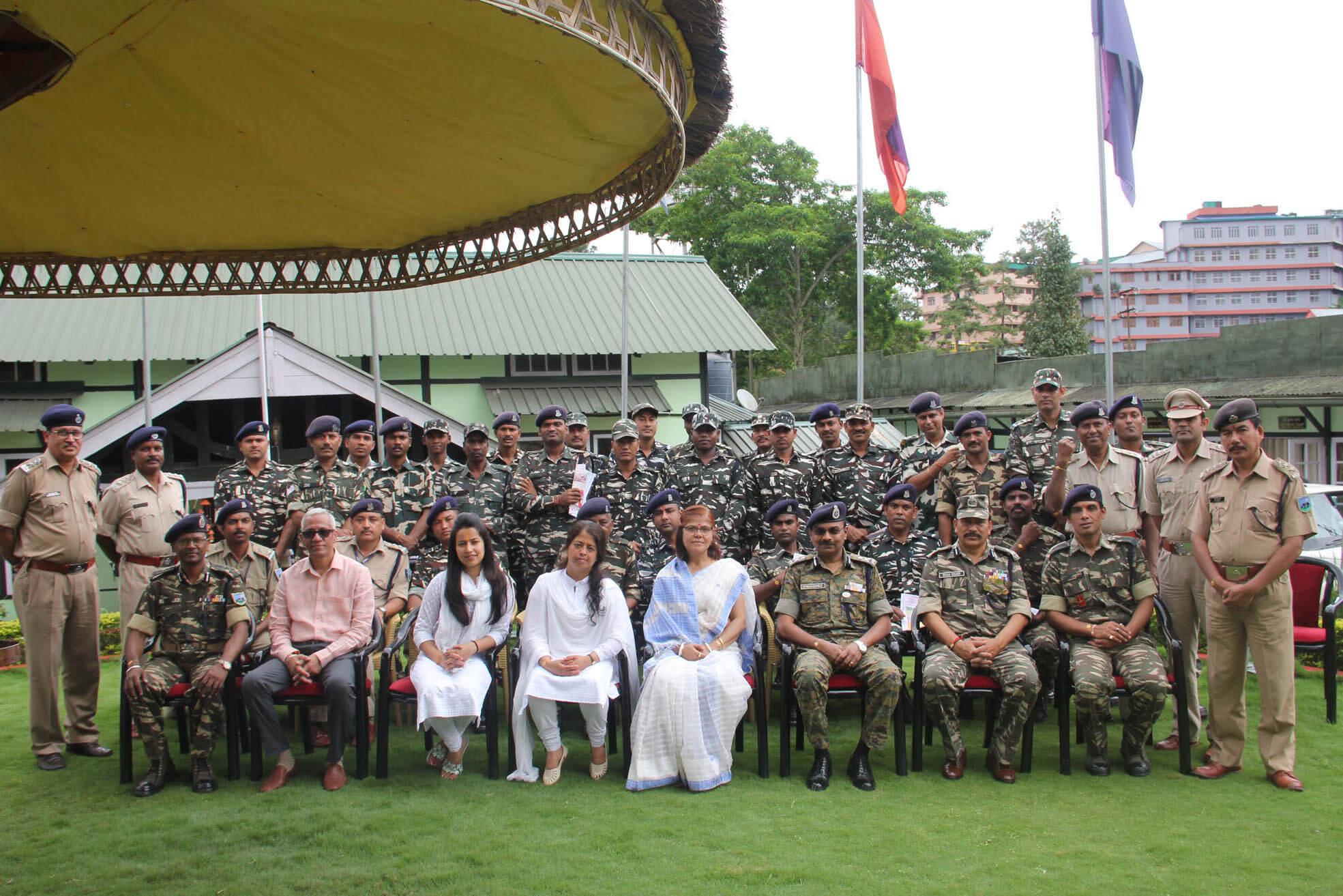 CRPF jawans celebrate Raksha Bandhan, Shillong