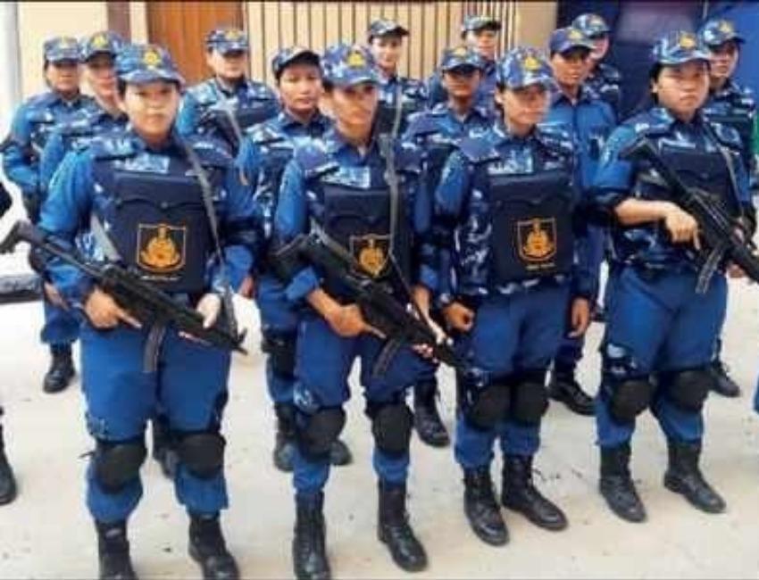 North East Women Swat Team To Guard National Capital Under Delhi Police Sentinelassam