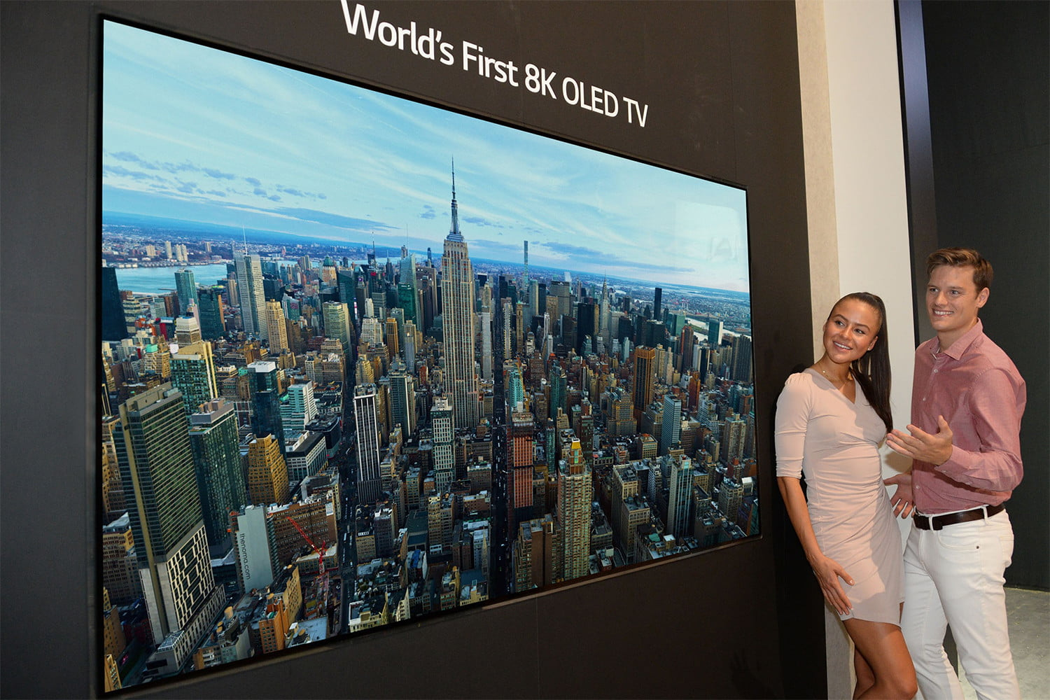 LG to Unveil 88-inch 8K OLED TV at the Internationale Funkausstellung  2018