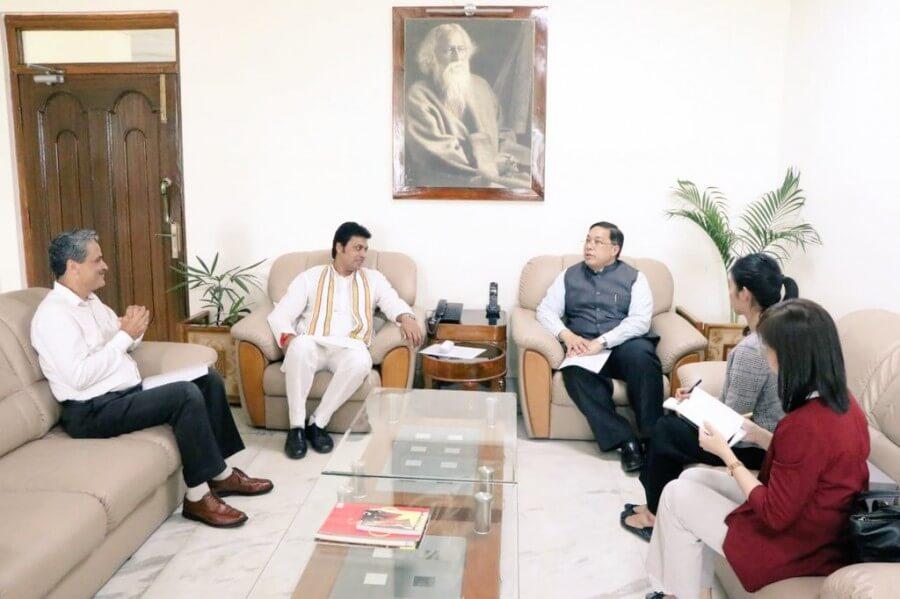 Thai Ambassador Discusses Trade and Cultural Ties with Tripura CM Biplab Deb