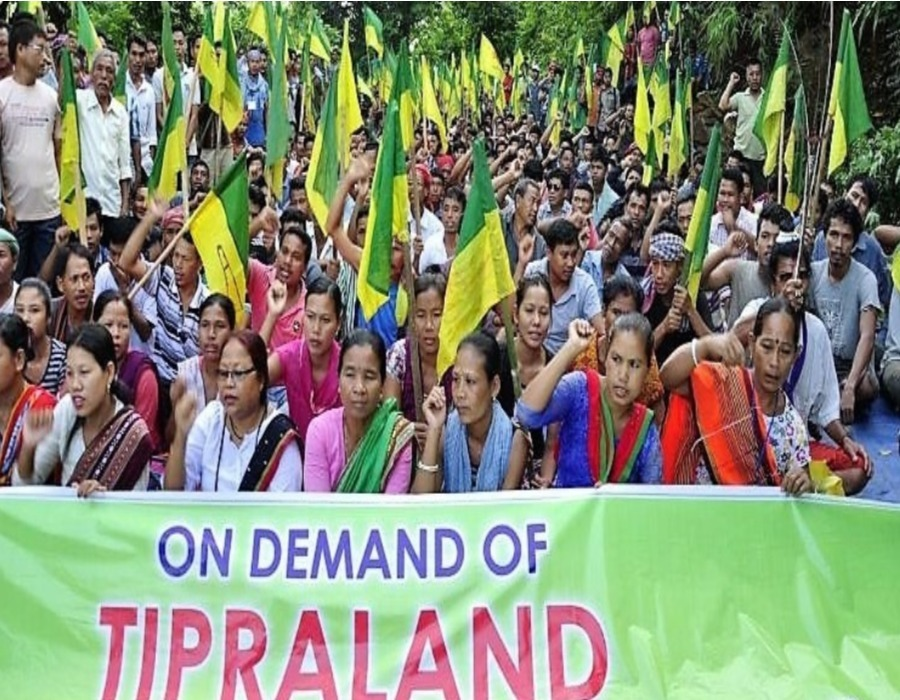 Tripura Tribal Parties Press for Separate State
