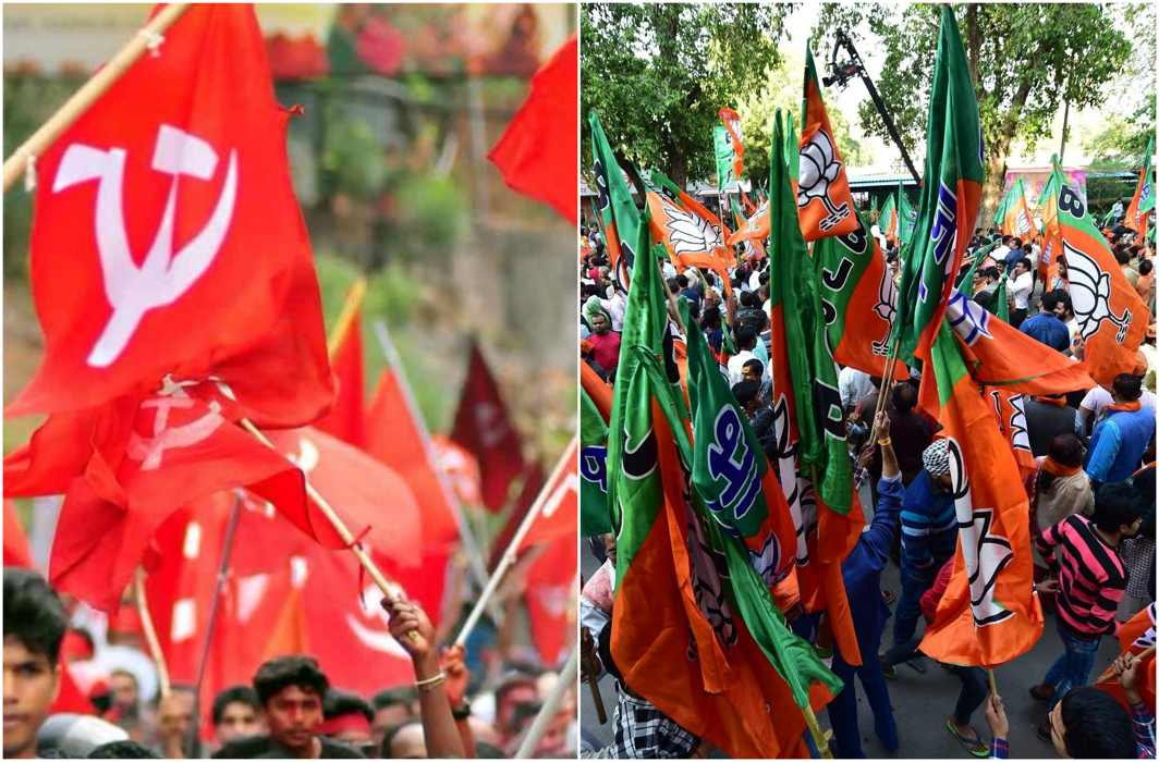 Left & BJP at loggerheads over Tripura affairs, trade accusations