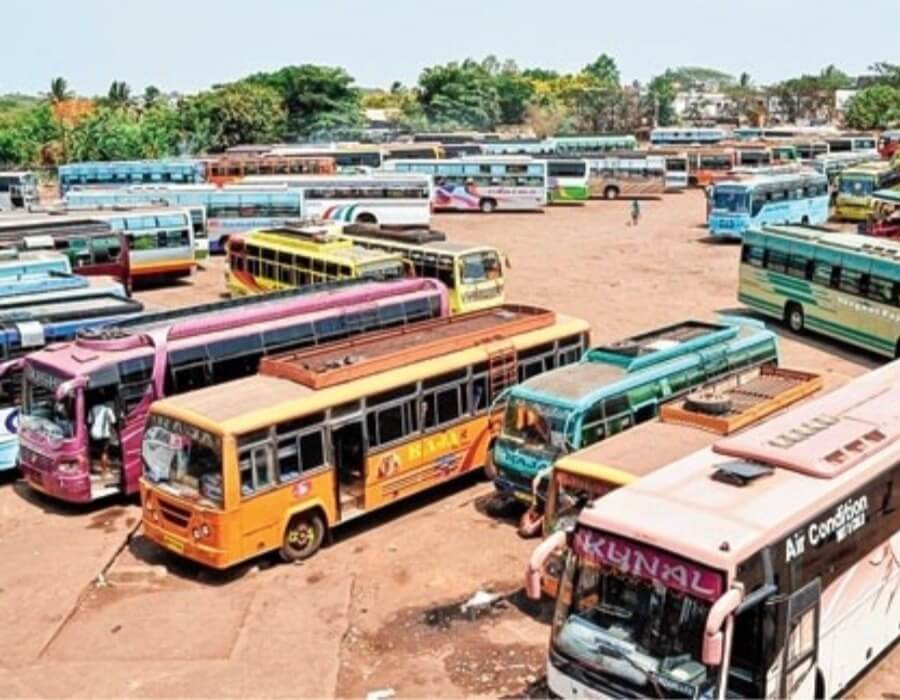 Transport strike in Kerala, Odisha