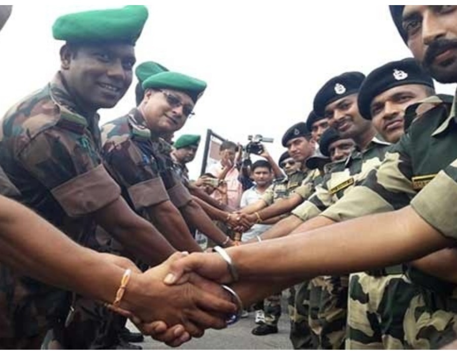 Cross Border Guards Celebrate Friendship Day at Karimganj