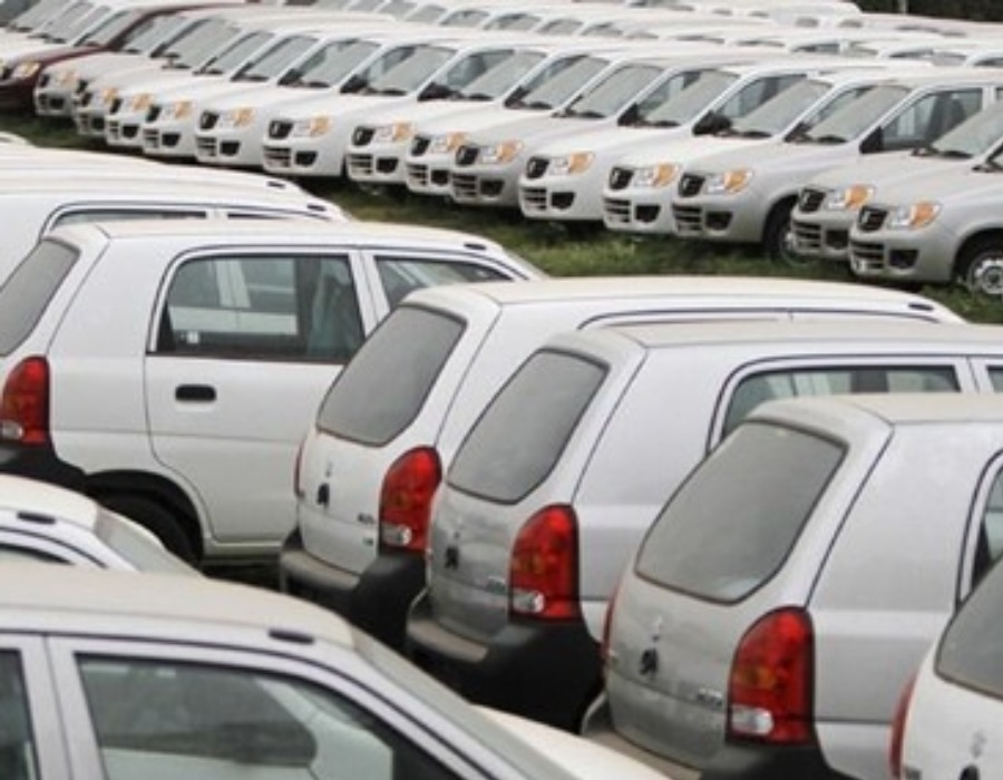 Sale of passenger vehicles in the domestic market declined