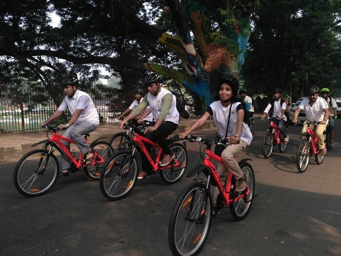 Cycle Tour Freedom Ride'18 on Aug 15 to Celebrate India's 72nd Independence Day