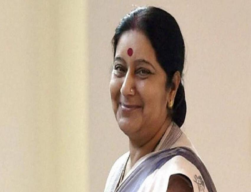 Sushma Swaraj leaves for Vietnam, Cambodia