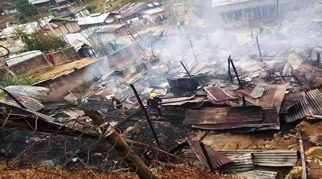 Rented rooms reduced to ashes, Itanagar
