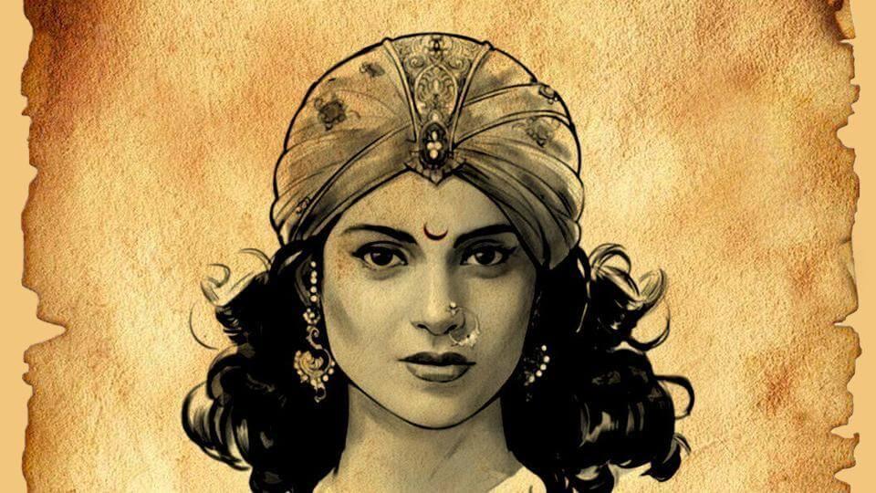 Kangana Ranaut as Rani Laxmi Bai is Fierce and Feisty