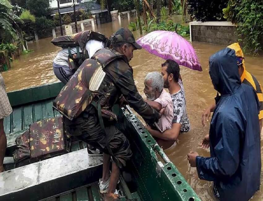 BSF aiding rehabilitation work in Kerala