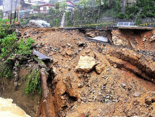 Minor girl injured in landslide, Byrnihat