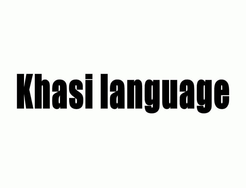 Stress on inclusion of Khasi in Eight Scheduled