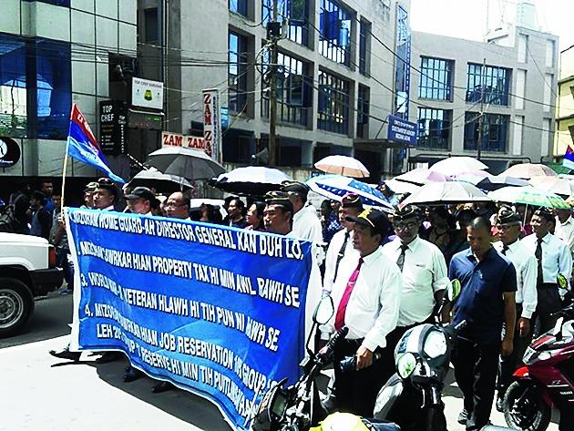 Mizoram ex-servicemen opposes creation of DG's post