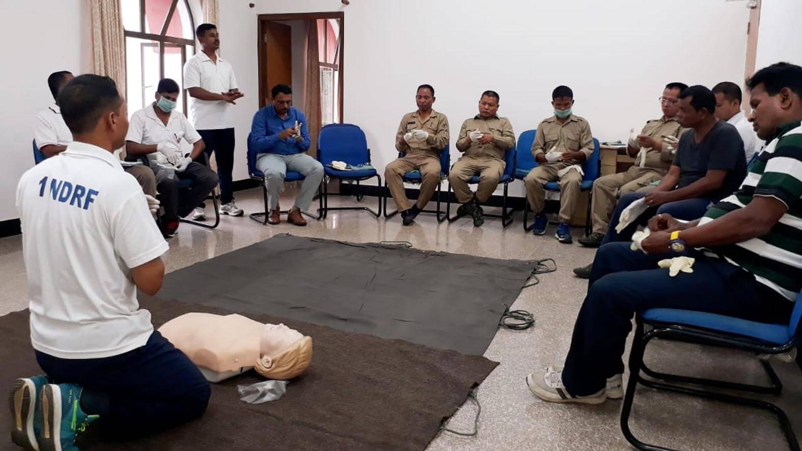NDRF conducts disaster response training