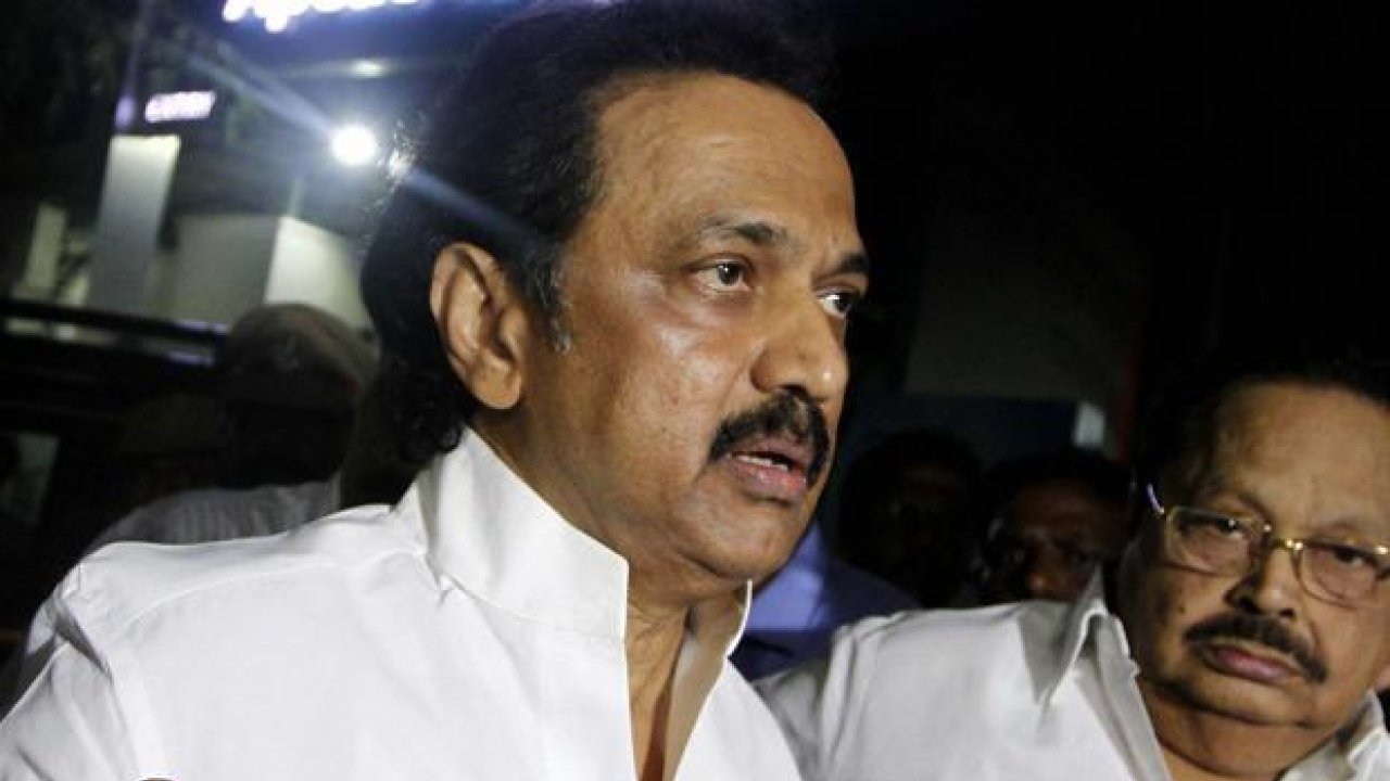 DMK leader M.K. Stalin mourns the death  of 21 Party members