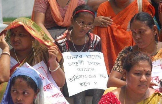 10323 Teachers Terminated by the SC in Tripura, Warns to Protest Against the BJP Led Government