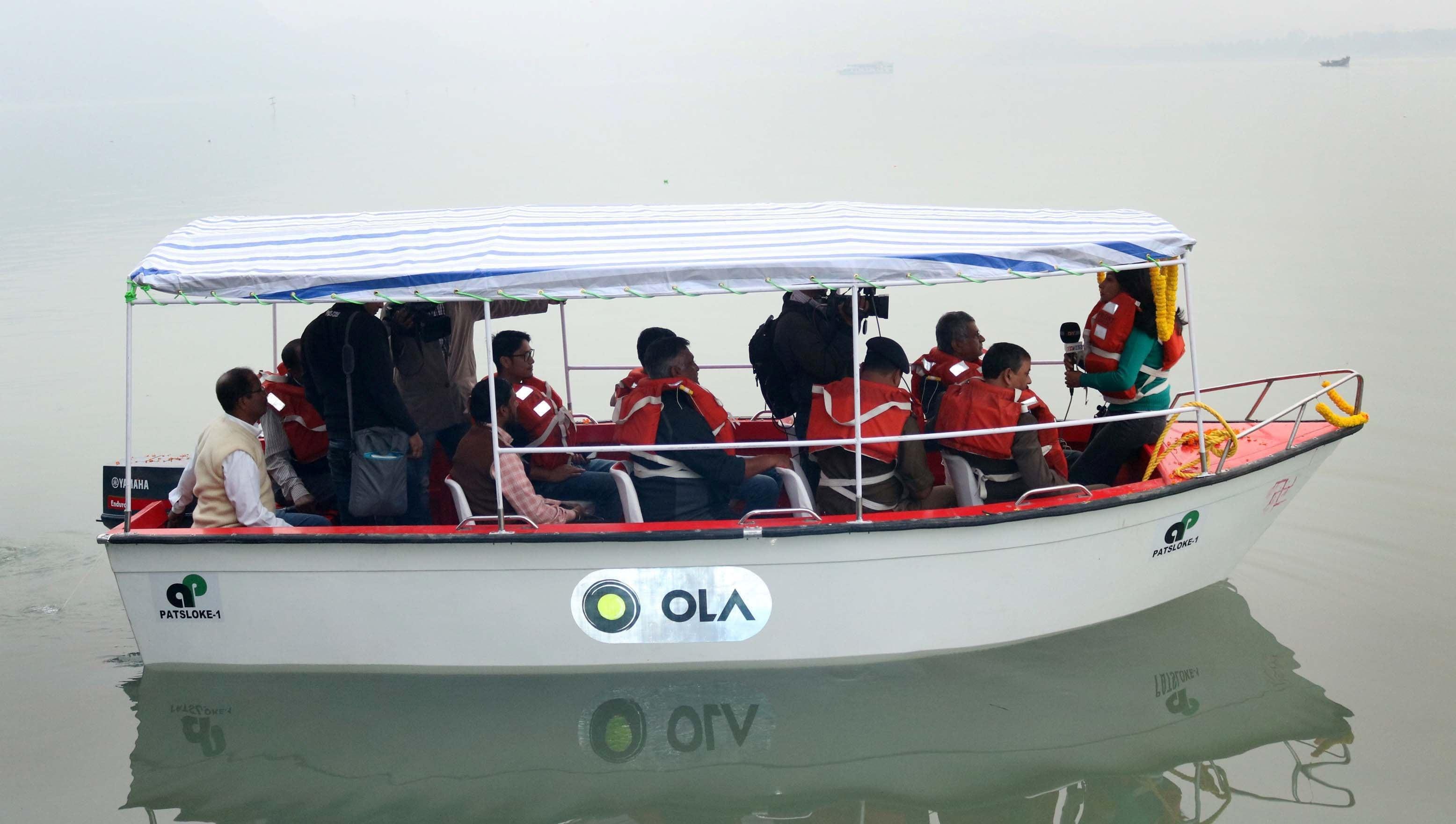 Ola Water Taxis on Brahmaputra a Far Cry