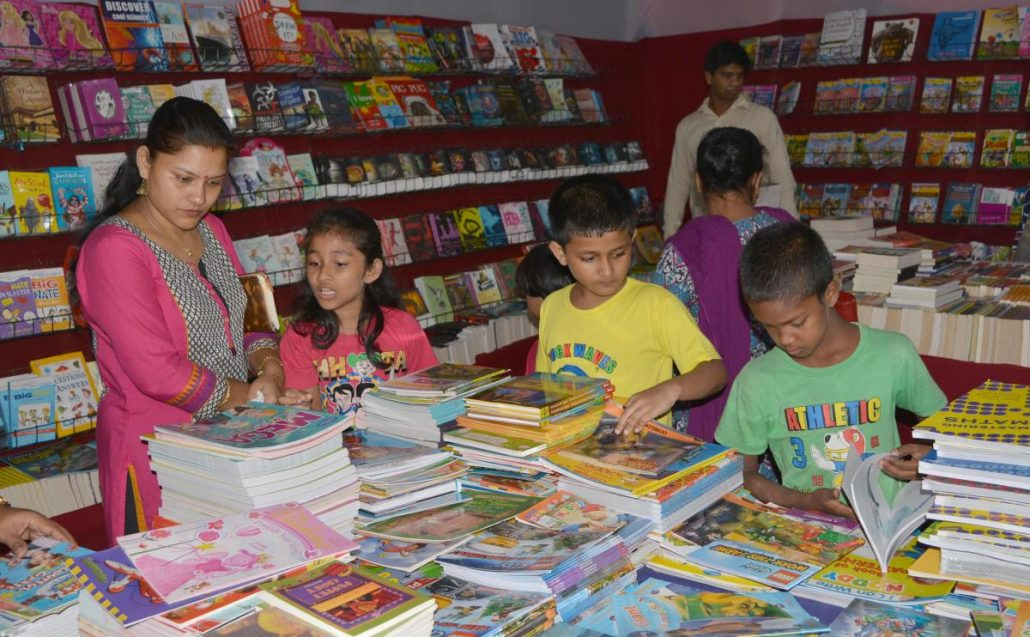 Book fair adds to excitement of festive season