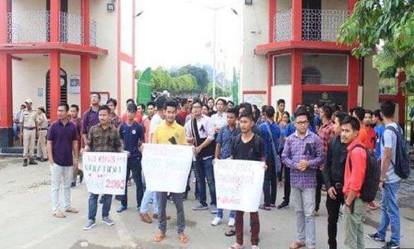 80 Manipur University students arrested