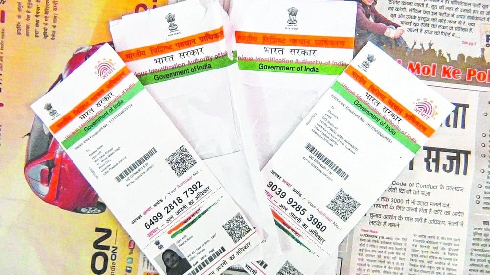 Aadhaar enrollment slow in State : Show-cause issued to firm