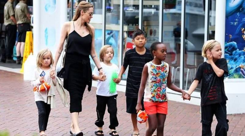 Angelina Jolie keeps kids away from Brad Pitt amid isolation