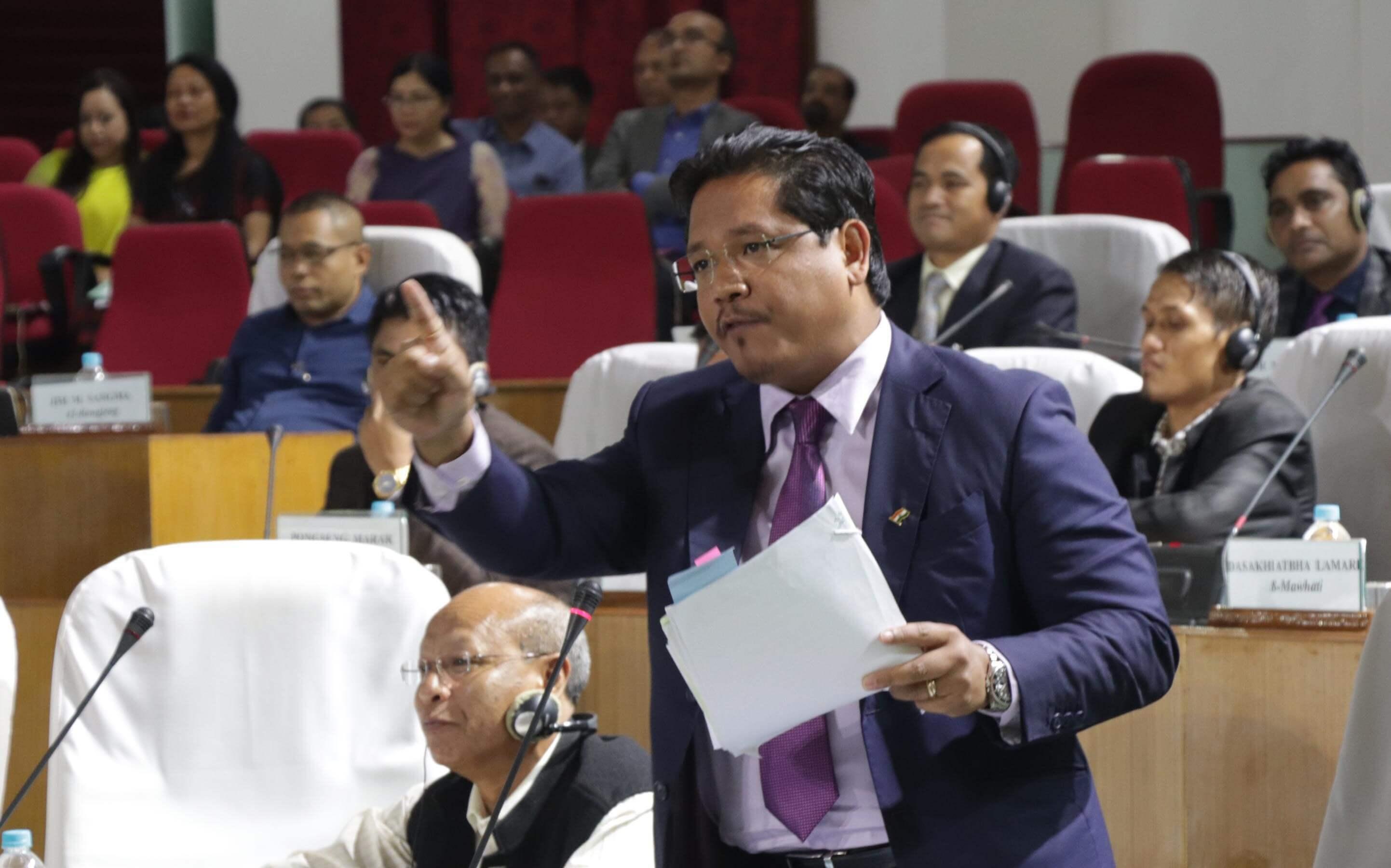 Assam Police violated protocol: Meghalaya CM Conrad K Sangma