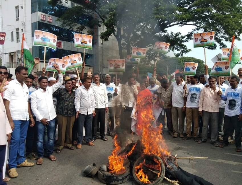 Bharat Bandh fails to make impact in State