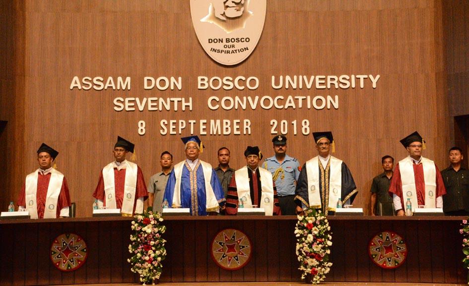 Quality education, thy name is Don Bosco University: Prof Jagadish Mukhi