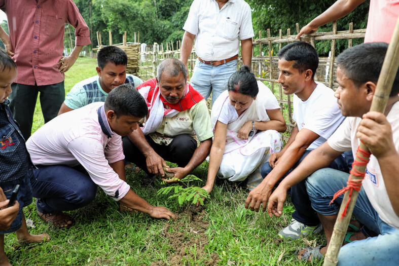 Clean & Green Village Mission launched in Chakialgaon