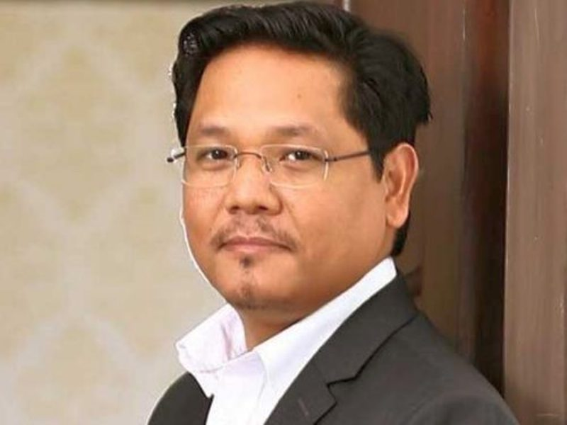 Meghalaya CM Conrad K. Sangma holds review meeting through video conferencing