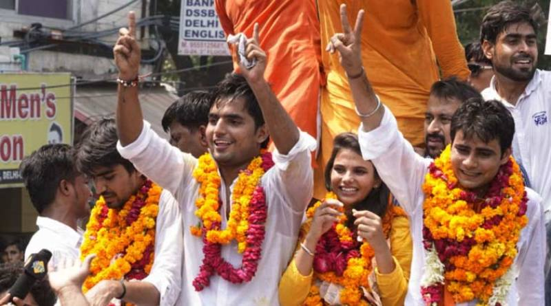 DUSU Election Result: ABVP Wins 3 Posts, NSUI 1