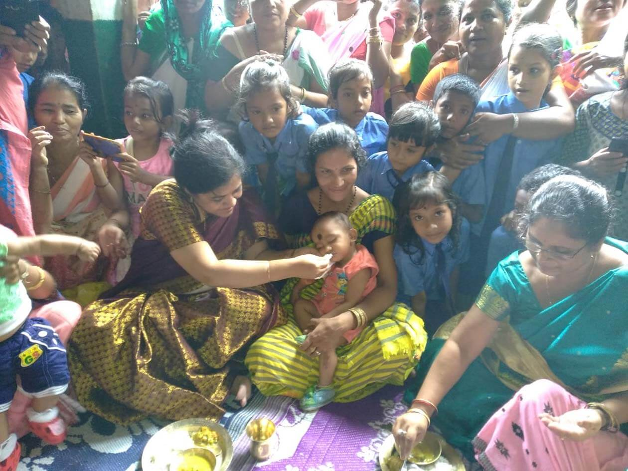 Darrang Deputy Commissioner Turns Maternal Uncle for Babies to Celebrate Annaprasan