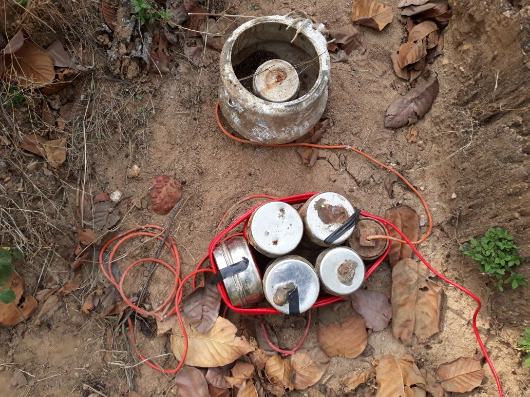 Police Recovers IED from Residential Area in Manipur