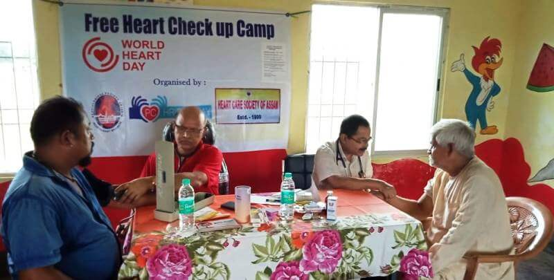 Free heart checkup camp held in Silchar