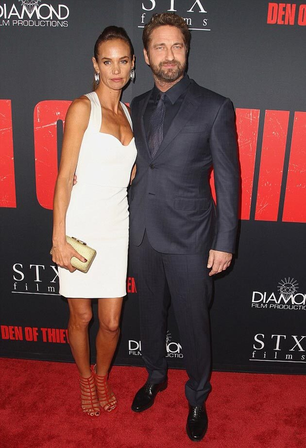 Gerard Butler Puts on Loved-up Display with Girlfriend Morgan Brown