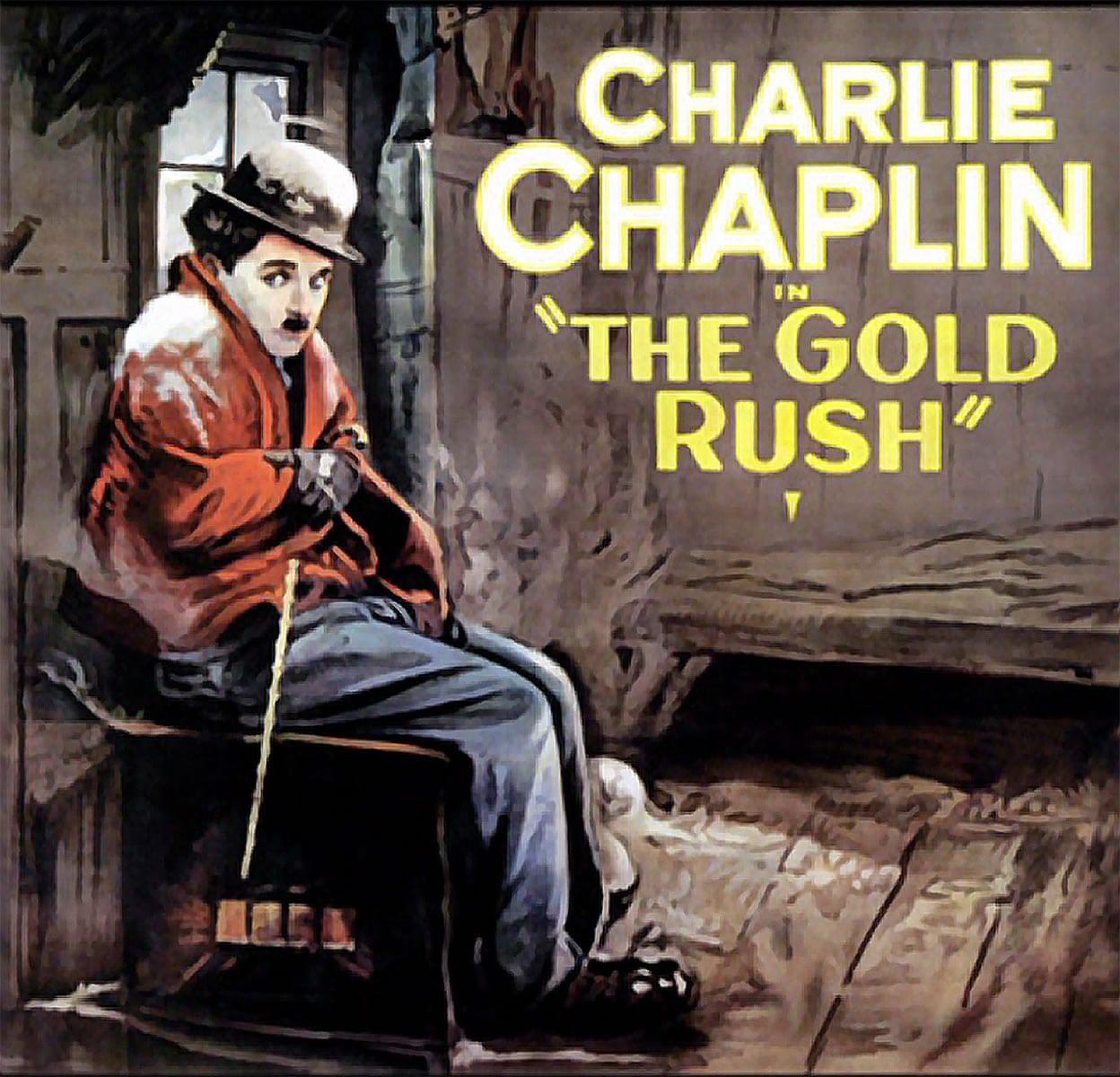 Screening of  'The Gold Rush'  on September 28