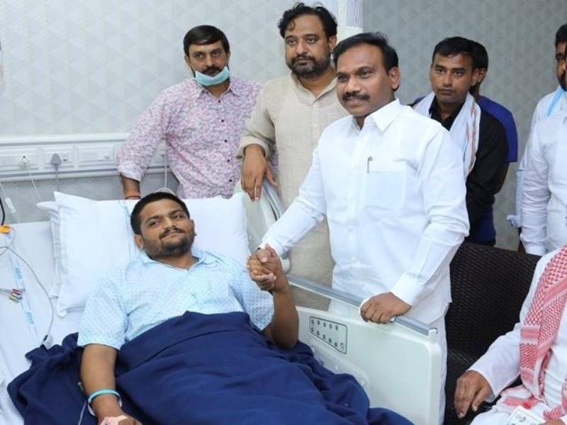 Patidar Leader Hardik Patel Likely to Break his Indefinite Fast Soon