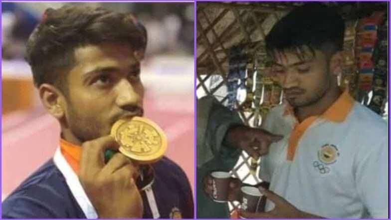 18th Asian Games Bronze Winner Harish Kumar Resumes Tea Selling on Returning Home