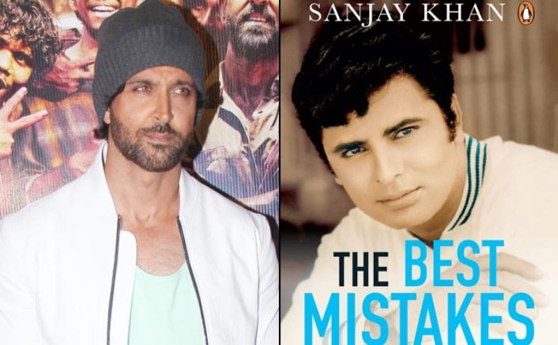 Hrithik Roshan Shares First Look of Sanjay Khan's Autobiography