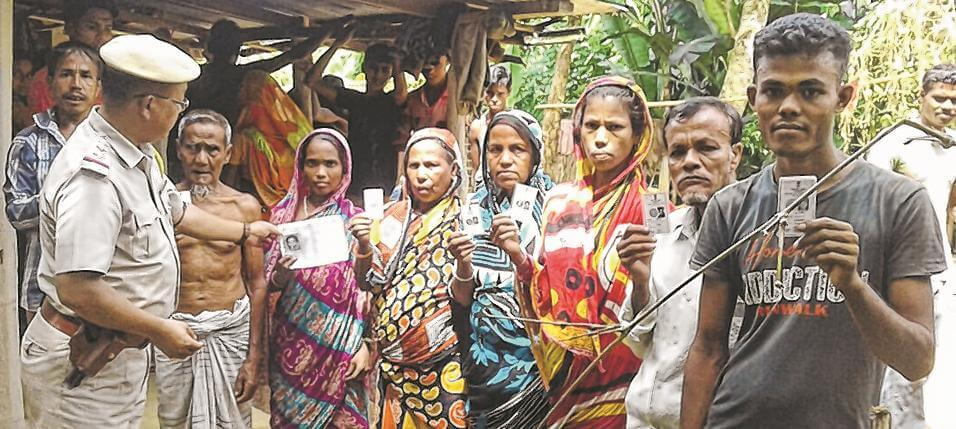 Manipur Joint Committee on Inner Line Permit System Activist Nabs 12 Bangladeshi Immigrants