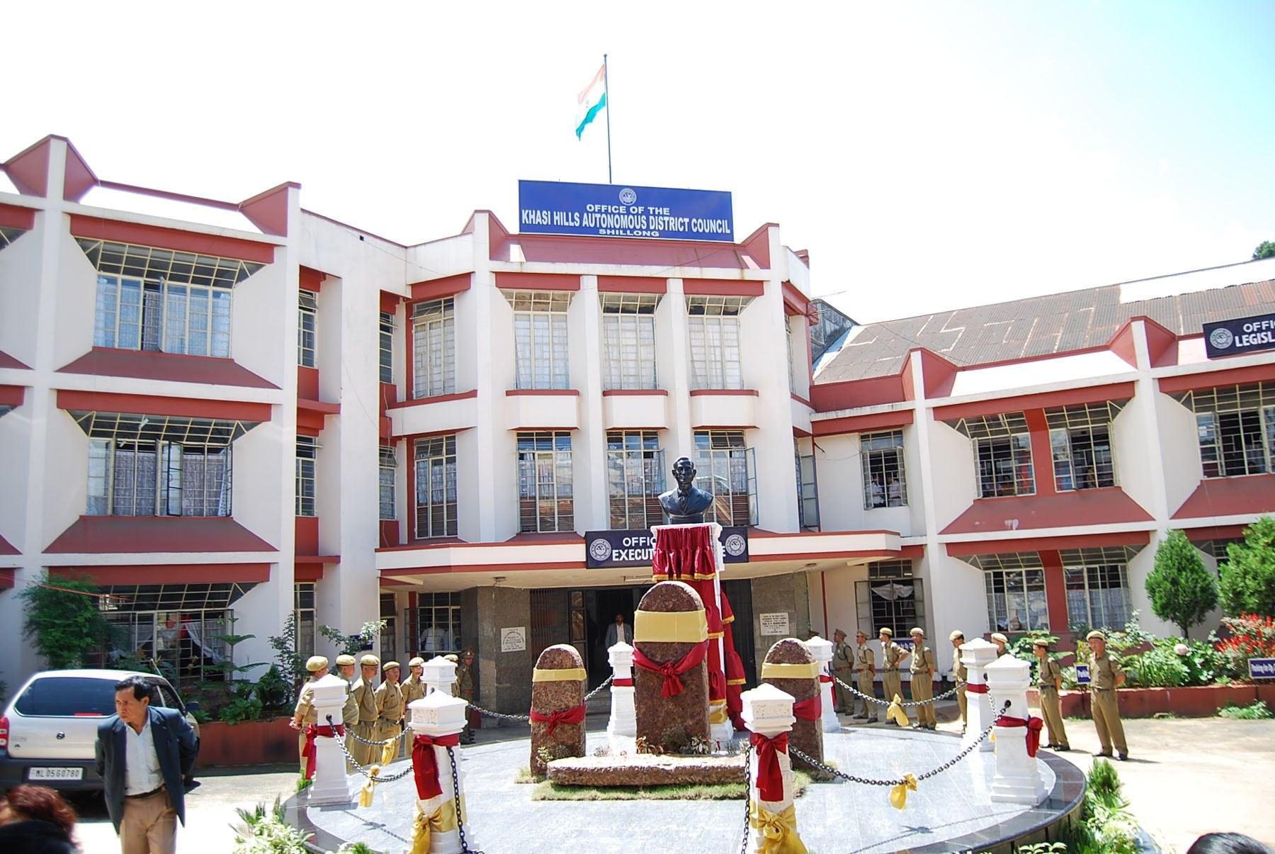 Khasi Hills Autonomous District Council meeting on Oct 3 in Shillong