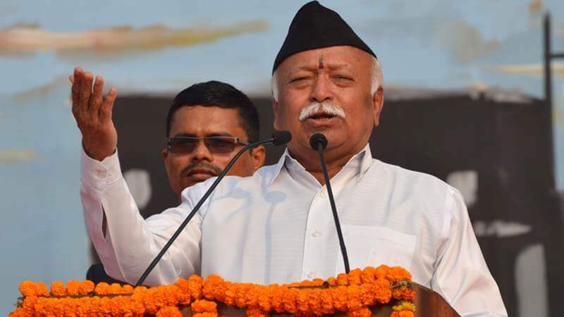 No RSS shakhas during Lockdown, says RSS Chief Mohan Bhagwat