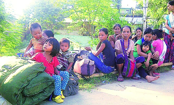 17 Bru Refugee Families Living in Relief Camps likely to Return Mizoram