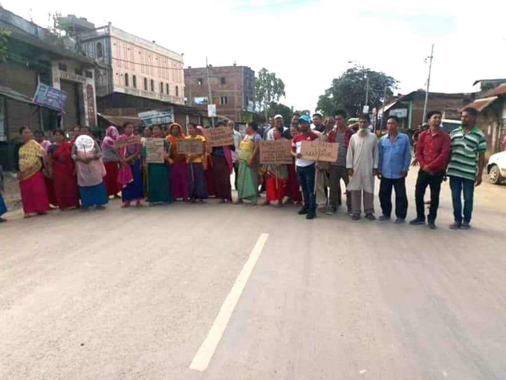 100 Hour Bandh Call by AMSU Harasses People in Manipur
