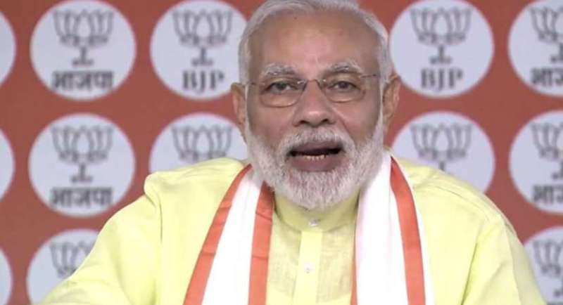 Congress in ICU, says Prime Minister Narendra Modi