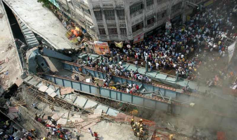 Opposition Parties Blames Ruling TMC for Kolkata Bridge Collapse