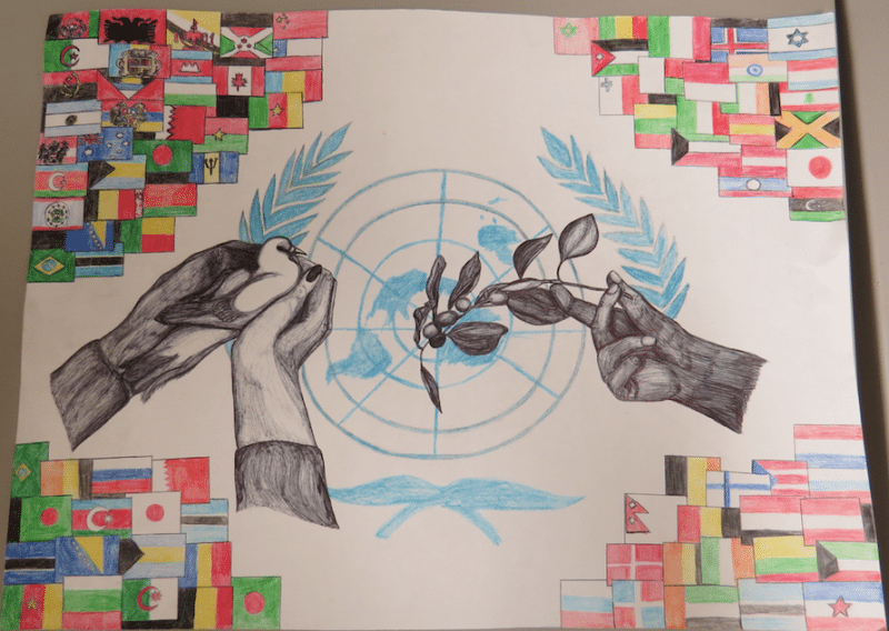 Lions International Peace Poster Contest on 9th October