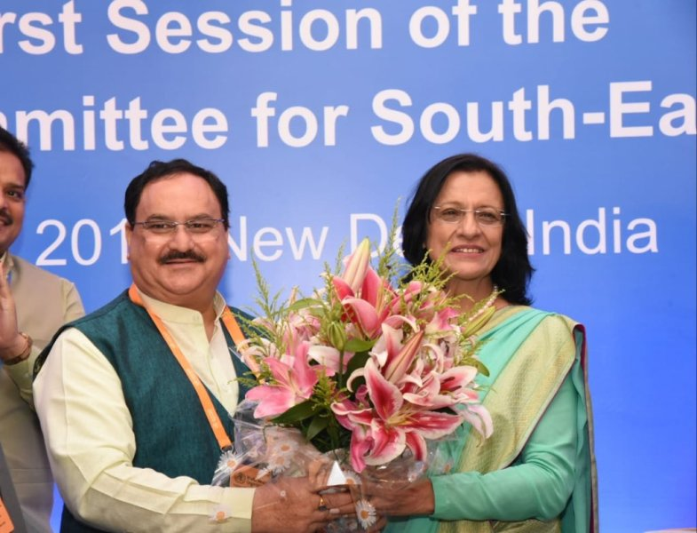 Poonam Khetrapal Singh Re-Elected as WHO Director