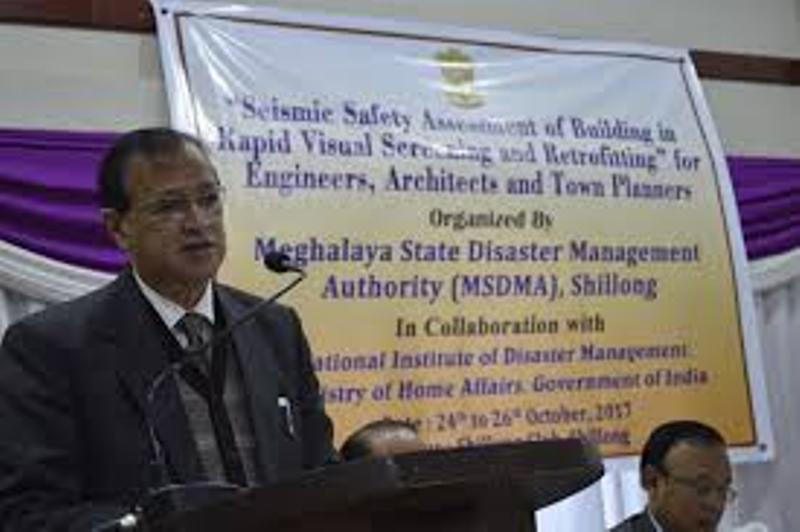 Meghalaya SDMA to Organize Training on Disaster Preparedness